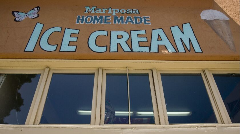July 22, 2010, San Diego, California_ Mariposa Ice Cream shop. Photo by Earnie Grafton/The San Dieg