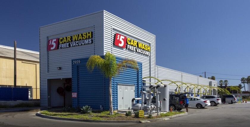 Wash N' Go car wash on Balboa Avenue in San Diego