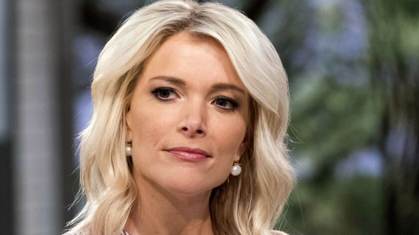 """Megyn Kelly on the set of """"Megyn Kelly Today"""" at NBC Studios in New York in September 2017."""