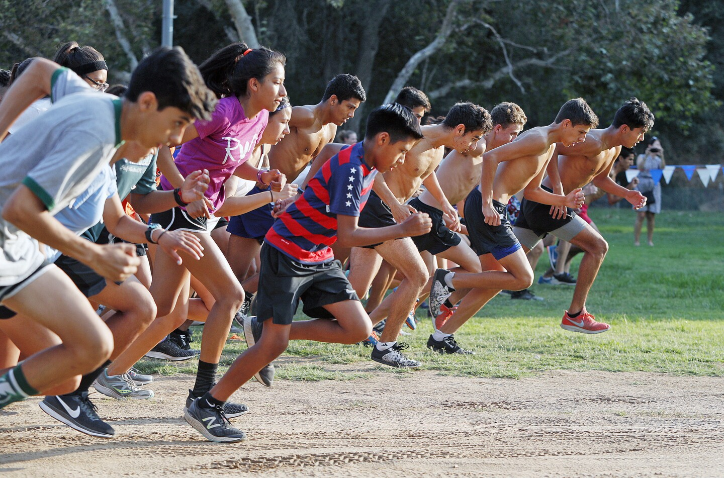 Photo Gallery: Cross-country meet at Crescenta Valley Regional Park