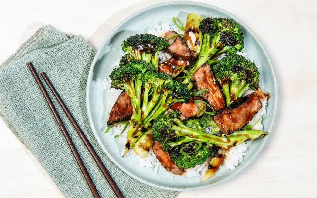 Grilled Beef and Broccoli