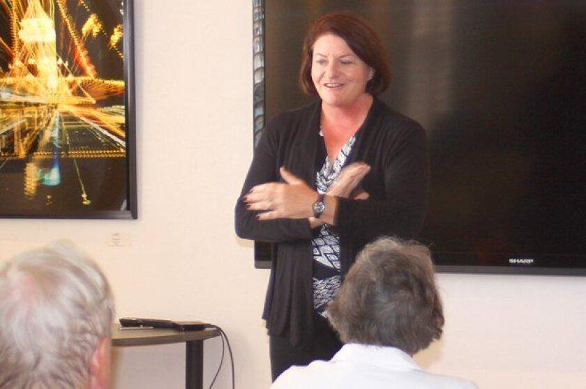 Speaker of the Assembly Toni Atkins at La Jolla Community Center