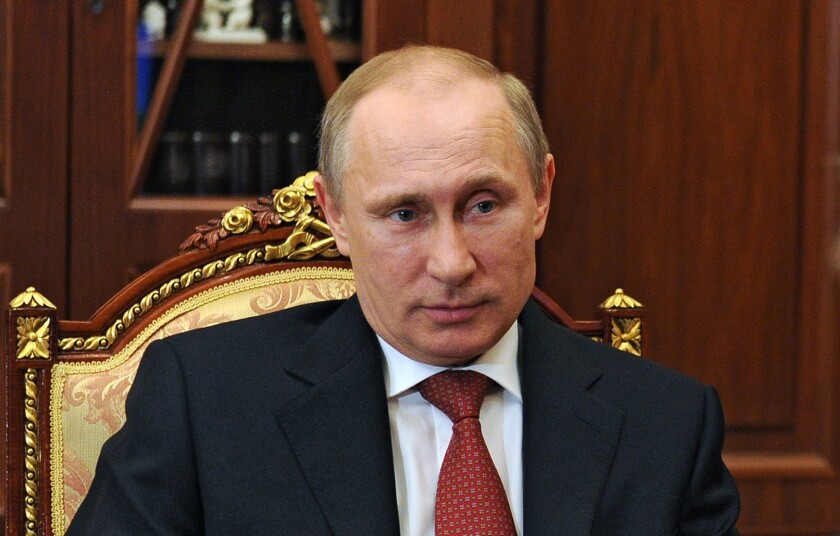 Russia's President Vladimir Putin signed a law Monday that will prohibit public profanity.