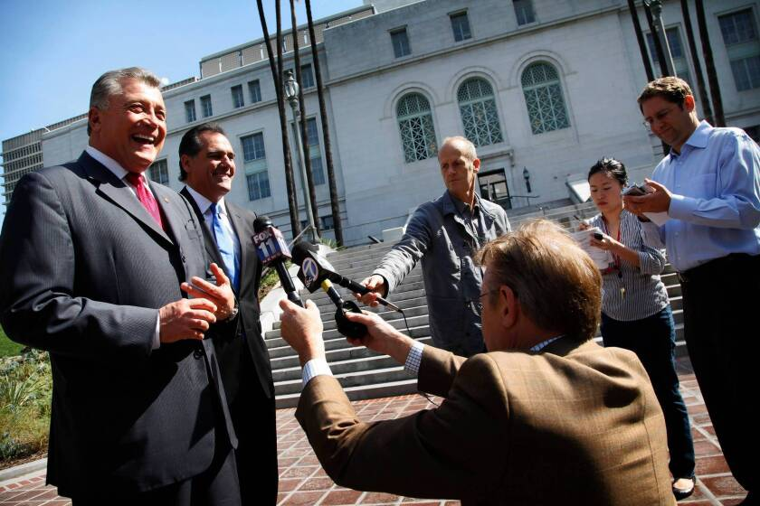 Trutanich wages an uphill battle to be 'rehired' as city attorney