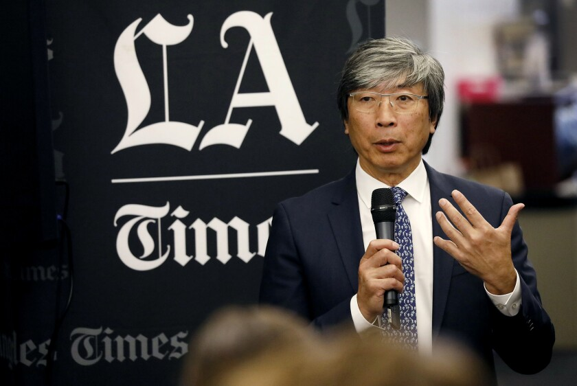 Patrick Soon-Shiong speaking.