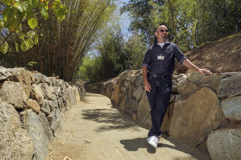 Palomar College arboretum trails