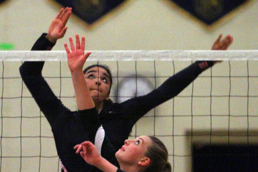 Canyon Crest senior Jolie Rasmussen has received first-team All-San Diego Section recognition three times.