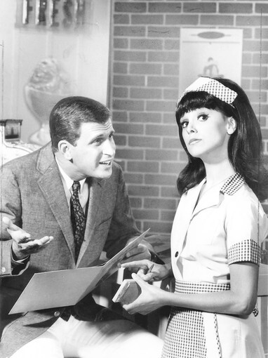 """Marlo Thomas By Susan King When Marlo Thomas was a teenager, she was always crazy about some boy. """"I couldn't wait to go out on dates,"""" says the Emmy- and Peabody Award-winning Thomas, who came to fame in 1966 as the struggling actress Ann Marie in the ABC sitcom """"That Girl."""" """"But I would look at my watch and around midnight I'd say, 'I better get home because I don't want to miss the guys.' """" """"The guys"""" were her father, comic-actor Danny Thomas, and his cronies, including George Burns, Jan Murray, Milton Berle and Bob Hope, to name just a few. They would congregate with their wives for dinner at Thomas' house in Beverly Hills and spend the evening trying to make each other laugh. Continue reading this story. RELATED: • Hollywood Walk of Fame: Marlo Thomas"""