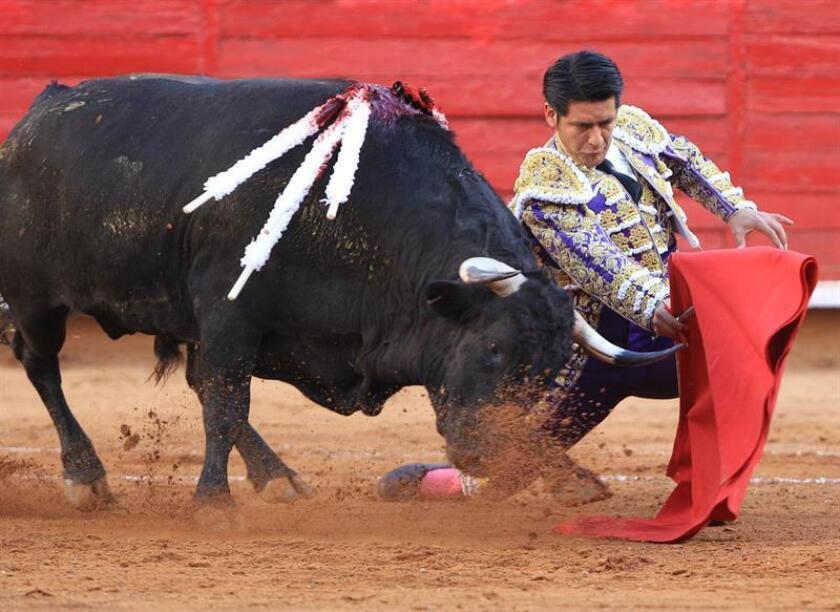 Uriel Moreno, torero mexicano. EFE/Archivo