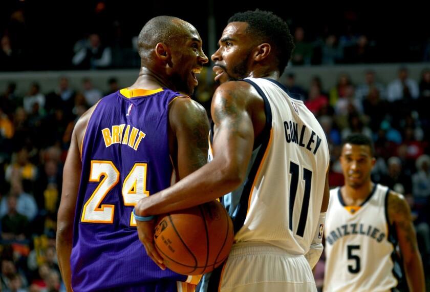 Kobe Bryant, Mike Conley