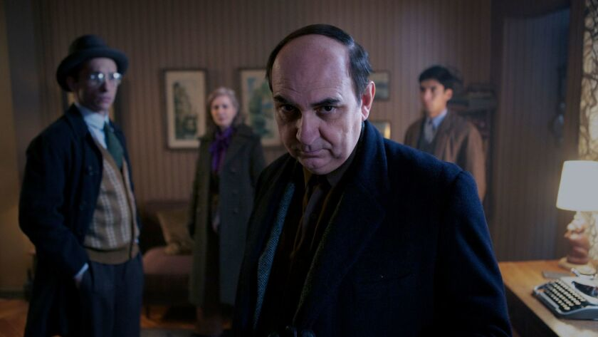 "Luis Gnecco as Pablo Neruda in ""Neruda,"" about the Chilean Nobel Laureate."