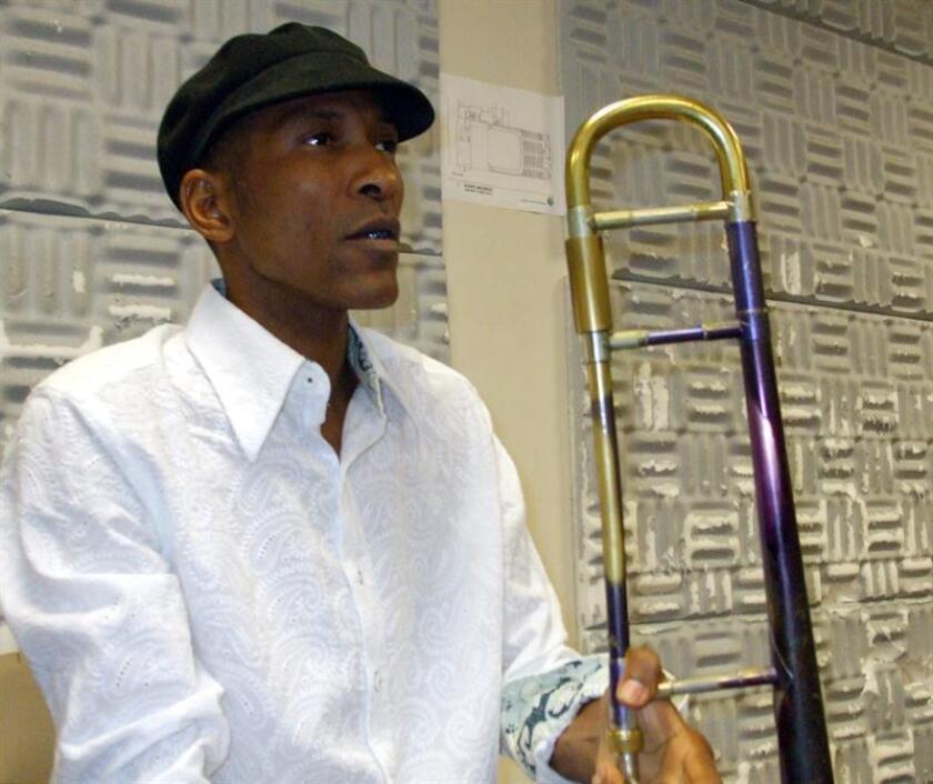 Fotografía de archivo del músico puertorriqueño William Cepeda. EFE/Archivo