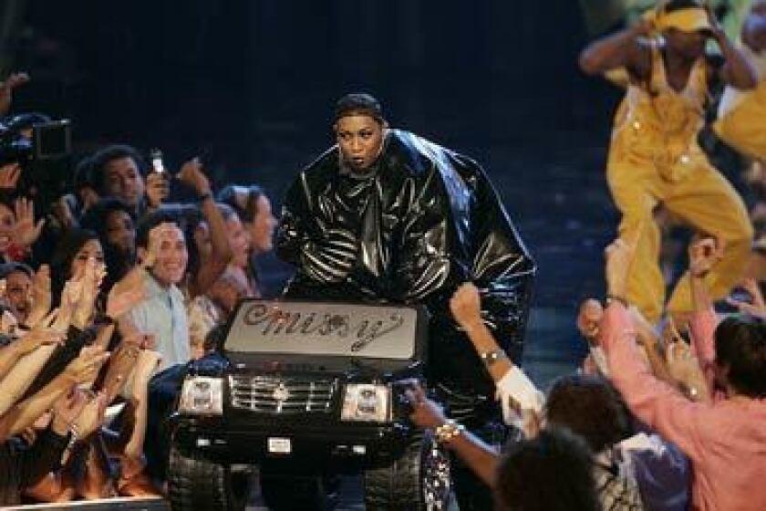 Missy Elliott on stage