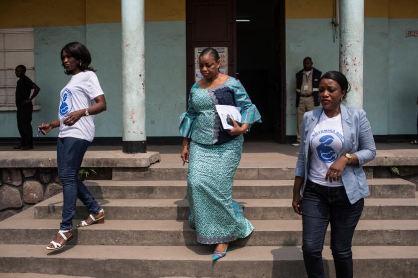 Women leaders in DRC Eve Bazaiba