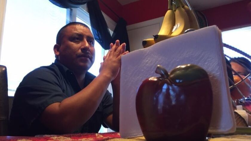 American-born Jorge Calderon remembers being called racial slurs when he moved to Idaho from California decades ago.