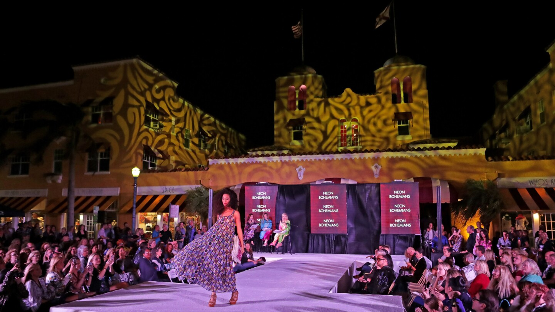 """Fashion Royale"" Evening Wear & Designer Fashion kicks off Fashion Week in Delray Beach, Jan. 23, 2019. John McCall, South Florida Sun Sentinel"