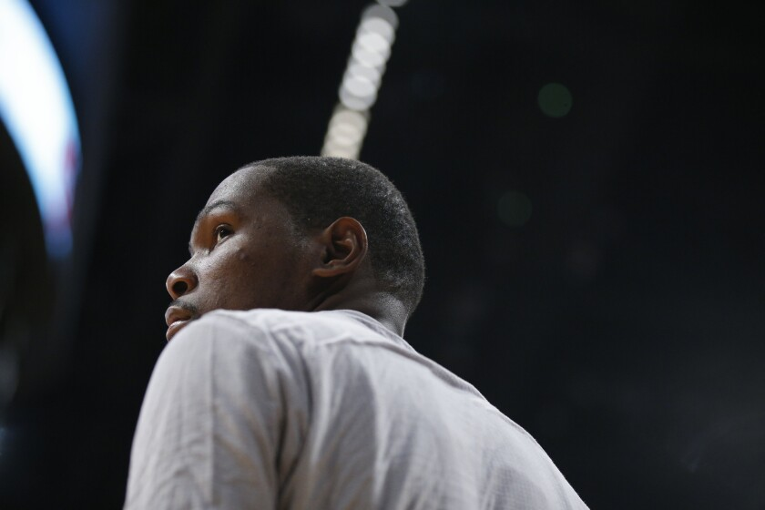 Russell Westbrook and Kevin Durant rally Oklahoma City past Denver, 122-112