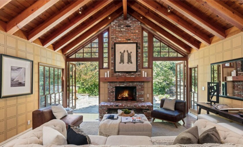 Todd Traina's Hollywood Hills home