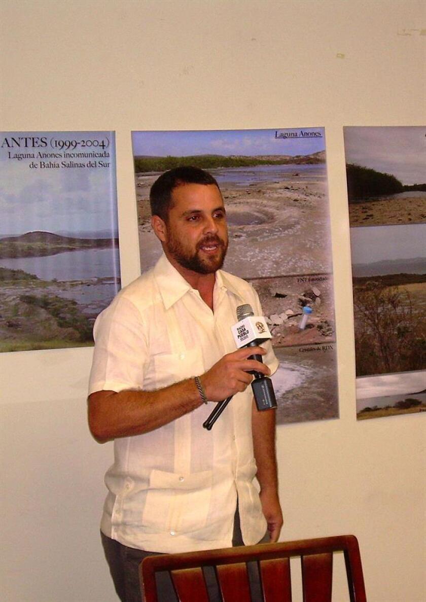 El científico de la organización ambientalista Casa Pueblo Arturo Massol Deyá. EFE/Archivo