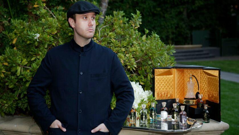 Ben Krigler makes fragrances generations of royals and