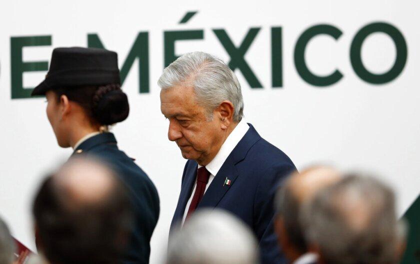 Fotografía de archivo del 1 de septiembre de 2019 del presidente mexicano Andrés Manuel López Obrador.