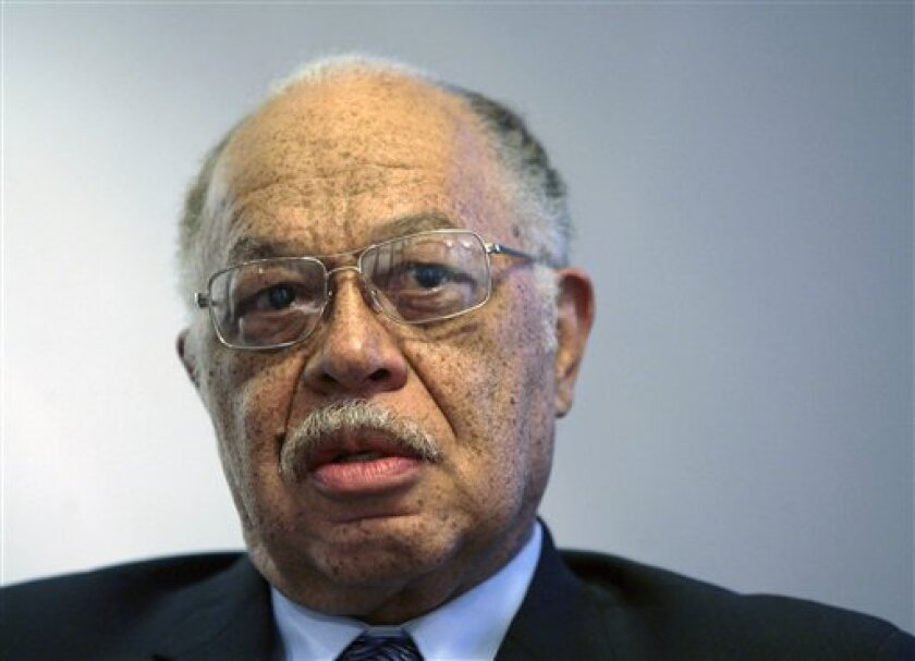 In this March 8, 2010 photo, Dr. Kermit Gosnell is seen during an interview with the Philadelphia Daily News at his attorney's office in Philadelphia.  Three years after drug agents stumbled upon a gruesome medical clinic in West Philadelphia, abortion doctor Kermit Gosnell is going on trial on eig