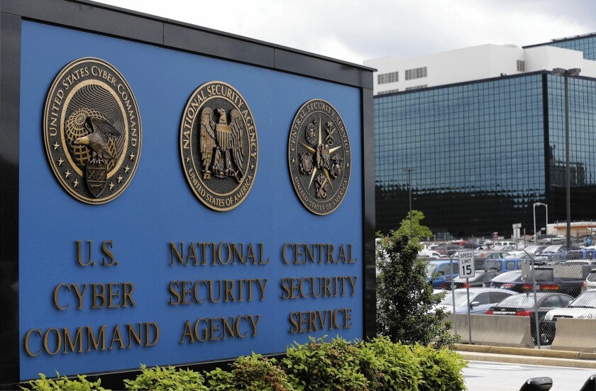 As President Obama finalizes plans for a speech Friday announcing proposed changes to intelligence operations, his administration seems unlikely to stop the collection of Americans' phone data by the National Security Agency. Above, the NSA campus at Ft. Meade, Md.