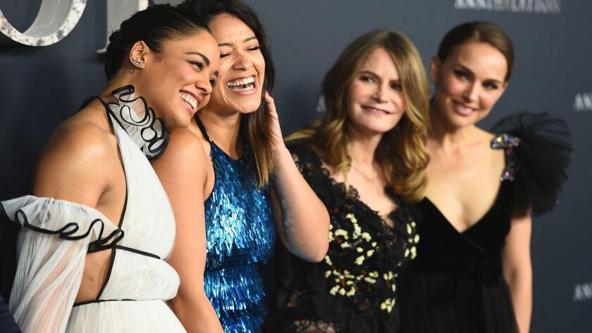 Tessa Thompson, Gina Rodriguez, Jennifer Jason Leigh, Natalie Portman