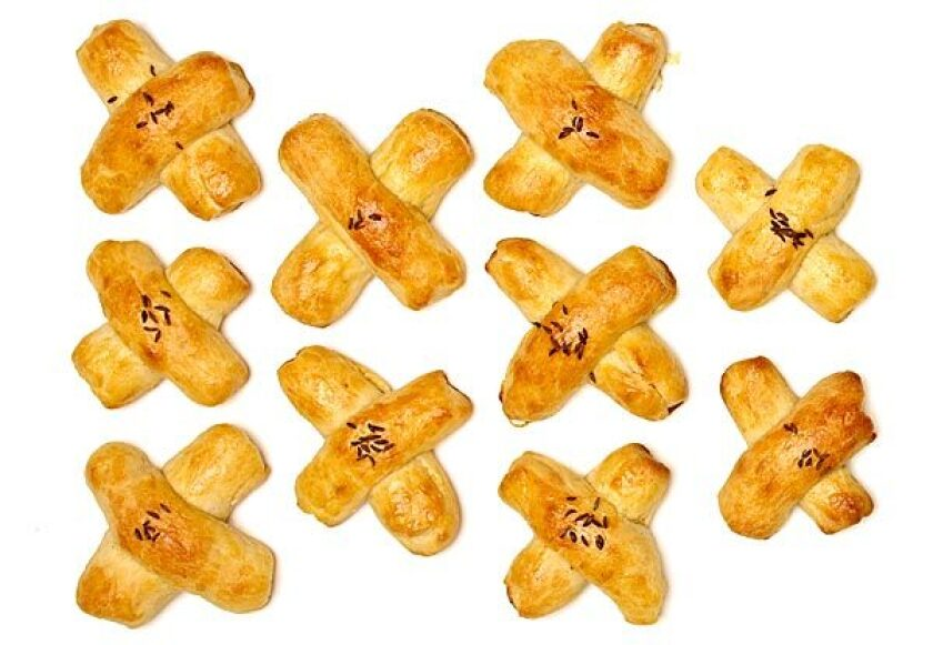 Caraway crosses
