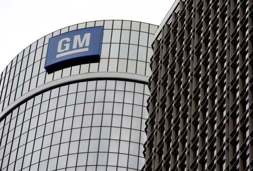 Imagen de la sede de la compañía automovilística General Motors en Detroit, Michigan, Estados Unidos. EFE/Archivo