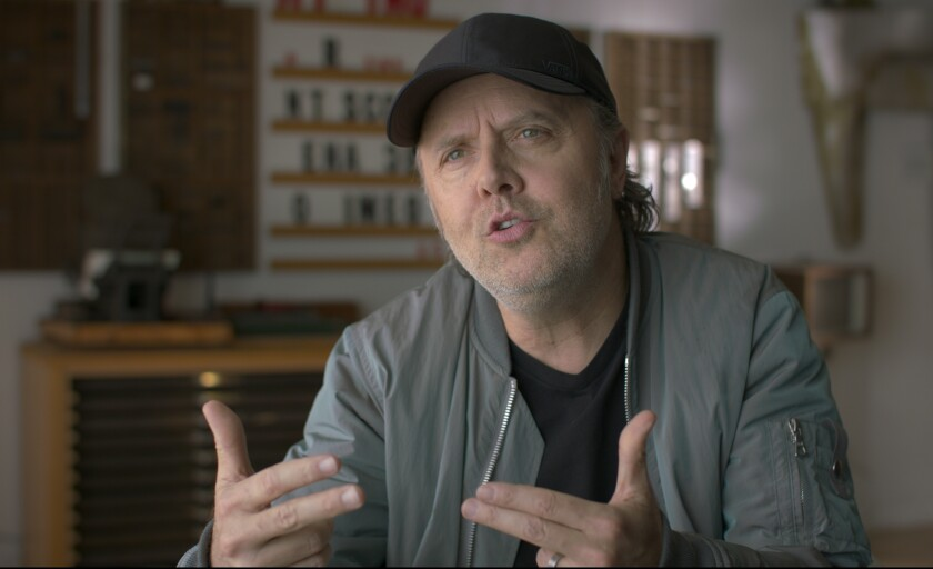 """Metallica drummer Lars Ulrich is one of the many people interviewed in """"What Drives Us."""""""