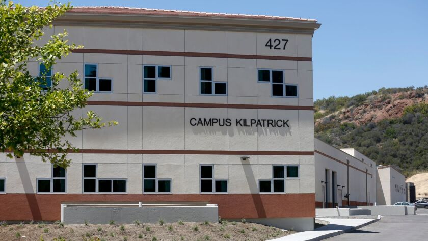 Los Angeles County Probation Department Campus Kilpatrick in Malibu, Calif. on May 19.