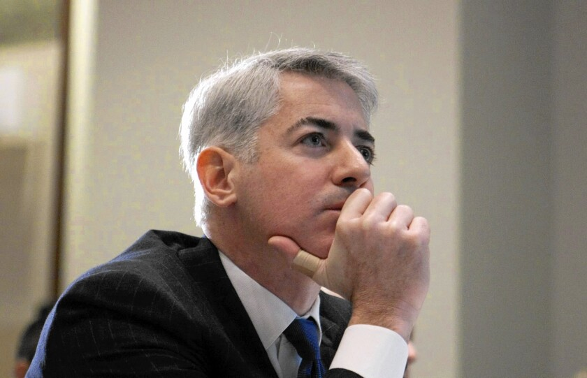 In his talk Friday, Bill Ackman, who runs Pershing Square Capital Management, answered nearly 200 questions sent by email from investors and reporters.