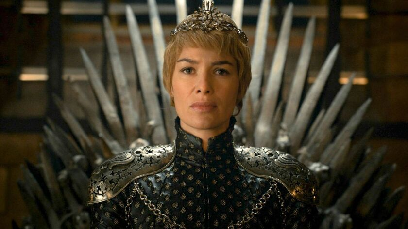 """Lena Headey as Cersei Lannister in """"Game of Thrones."""""""
