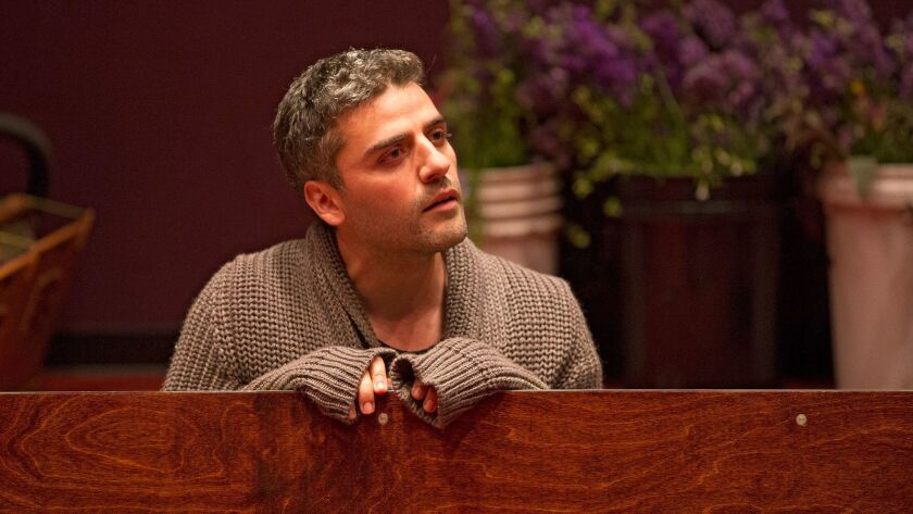 Oscar Isaac as Hamlet, directed by Sam Gold, at the Public Theater in New York.