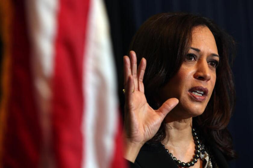 Kamala Harris es elegida senadora de California