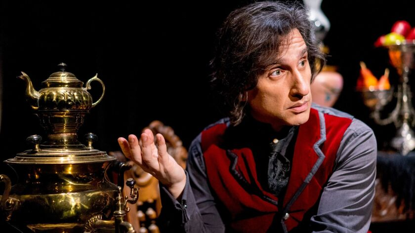 """Hershey Felder stars in """"Our Great Tchaikovsky"""" at the Wallis."""