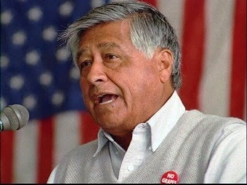 Labor leader and civil rights activist Cesar Chavez. File Photo courtesy of Ferris State University