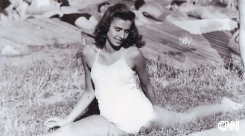 Edith Eva Eger at 16. By the next year, she would be in a concentration camp.