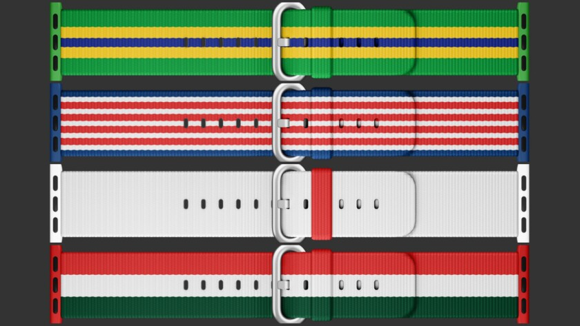 Nation-themed Apple Watch bands