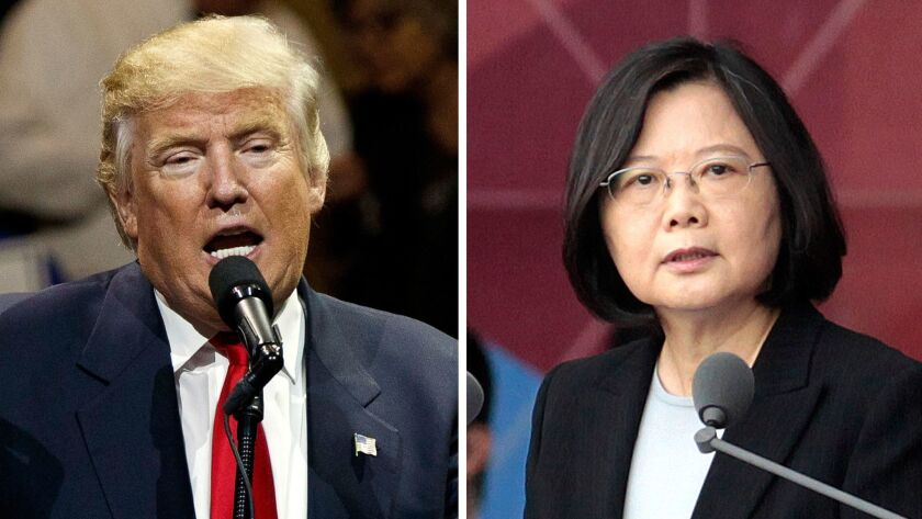 President-elect Donald Trump's telephone call with Taiwan's President Tsai Ing-wen was a prime example of his unpredictability, a strategy that carries a lot of risk, foreign policy experts say.
