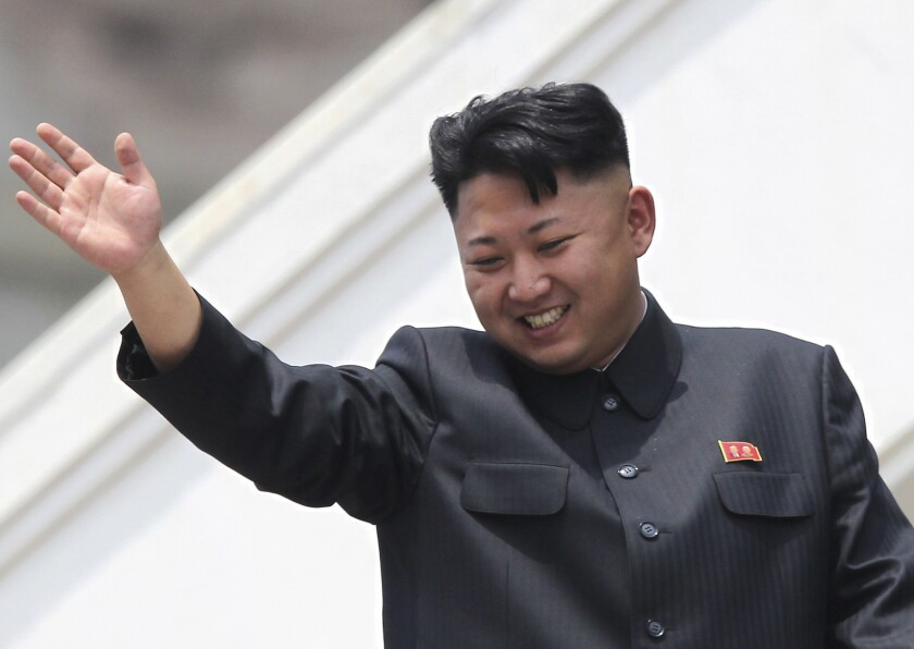 North Korean leader Kim Jong Un, shown here in a photo from July 27, hasn't been seen in public since Sept. 3, sparking rumors and speculation that he is ill or has been ousted.