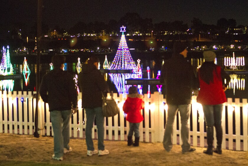 Annual Lighting of the Bay