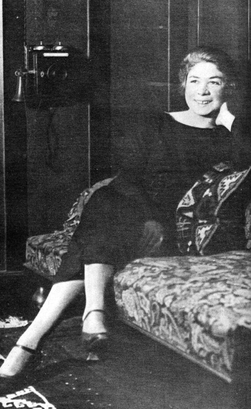 Imagen de la poetisa Alfonsina Storni, que posa para una revista de la época. EFE/Archivo