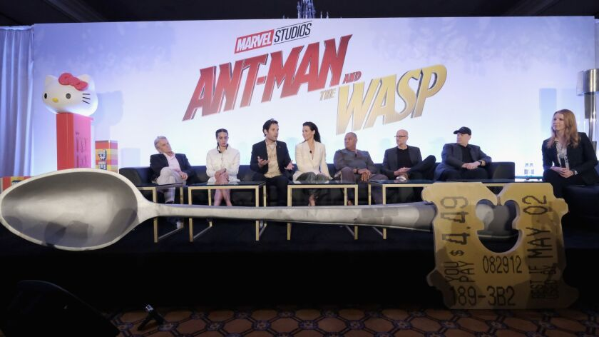 """Marvel Studios' """"Ant-Man And The Wasp"""" Global Junket Press Conference"""
