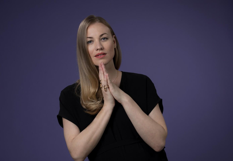 2018 Emmy Chats  Yvonne Strahovski