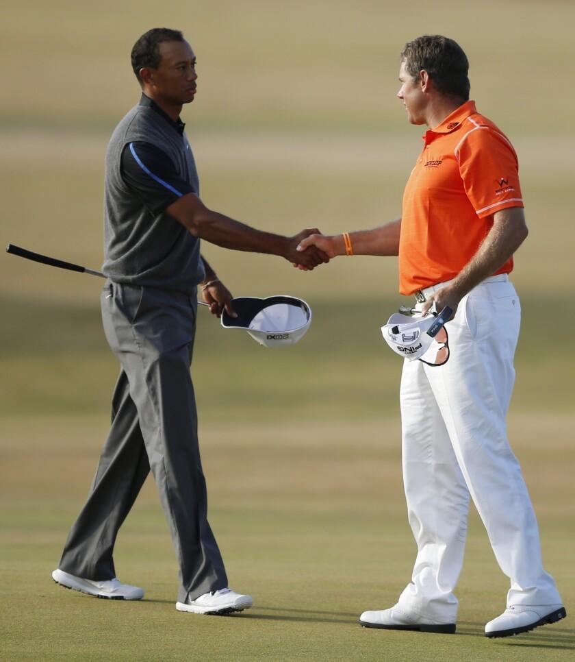 Tiger Woods, Lee Westwood