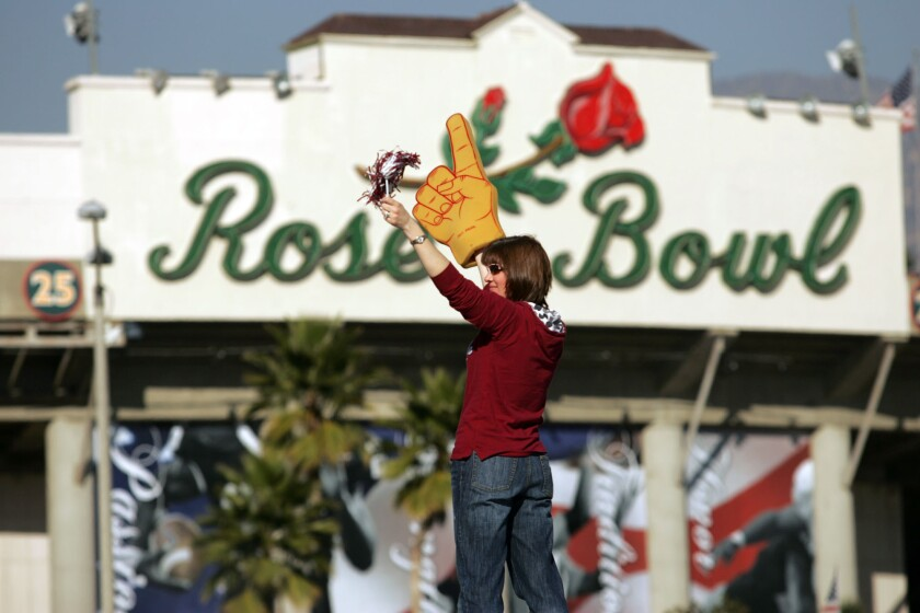 Rose Bowl officials voted to deny any NFL team a temporary home in Pasadena.