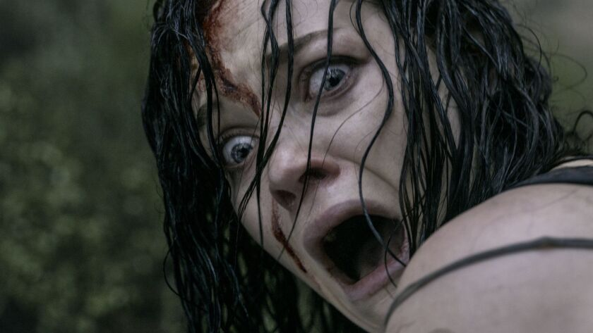 """In the 2013 movie """"The Evil Dead,"""" Jane Levy faces the awful truth: No beer?"""