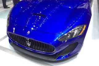 L.A. Auto Show 2014: Maserati GranTurismo convertible MC Centennial